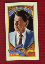 RONALD REAGAN President 2014 Panini Golden Age MINI Brown Hindu Back #119