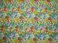 "LIBERTY OF LONDON  TANA LAWN FABRIC DESIGN ""Phyllis"" 2 METRES (200 cm)"