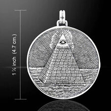 Mystic Pyramid, Eye Of Providence Pendant by Peter Stone.