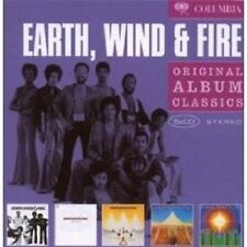 "EARTH, WIND & FIRE ""ORIGINAL ALBUM CLASSICS"" 5 CD BOX"