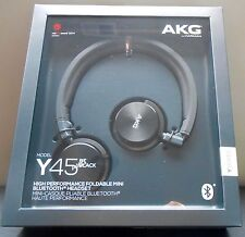 Harman AKG Y45 Mini On-Ear Wireless Bluetooth Headphones - Black