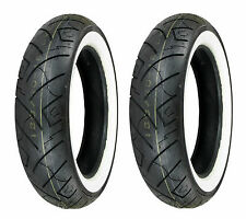 Shinko 100/90-19 & 130/90-16 777 HD White Wall Tires Harley-Davidson XL/FXR/Dyna
