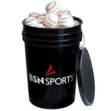 BSN SPORTS™ Bucket w/ 5 DOZEN MacGregor® 79P Practice Baseballs