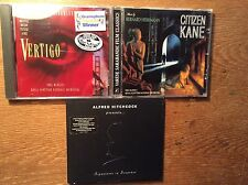 Bernard Herrmann [3 CD / Soundtrack] Citizen Kane + Alfred Hitchcock + Vertigo