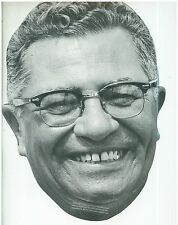 1997 Cardboard Mask of Vince Lombardi Green Bay Packers