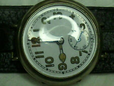 Swiss WW1 era wrist watch for parts or repair. trench watch Military?