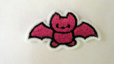 Cute Halloween Bat Iron On / Sew On Fancy Dress Patch Badge, Kid Clothes & Bags