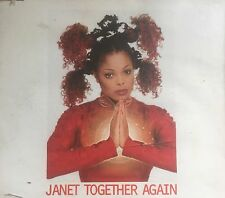 Janet Jackson Together Again (6 Mixes) Maxi Single 1997 Virgin Australia GC
