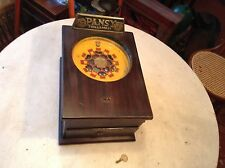 Circa 1900 Pansy Coinop Game Roulette Wheel Arcade 7 Balls For 1c Pinball GR8!