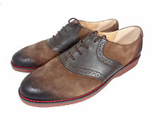 Mossimo Oxford Shoes Mens Brown Lace Up Suede Size 12