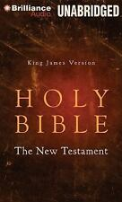 King James Version Holy Bible - the New Testament (2014, CD, Unabridged)