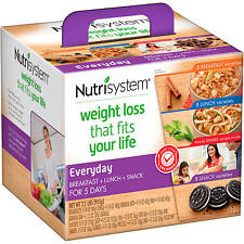 Nutrisystem Flex Everyday 5 Day Weight Loss Kit
