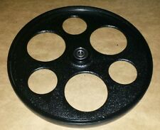 """New Cast iron Upper Wheel for Delta 14"""" Bandsaw with bearings and tire"""