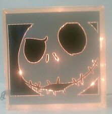 Personalized Nightmare Before Christmas Glass Block Light~ Home Decor~Gift~Lamp