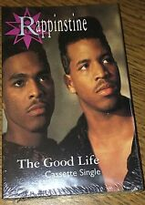 Rappinstine- The Good Life 1991 RAP Tape Single Sealed