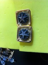 Vintage Never Worn, Fine Costume  Earrings From Jewelry Store Estate