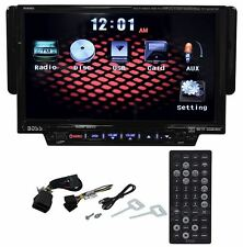 "Boss BV8962 7"" Single Din Touchscreen Car DVD/USB/SD Player Monitor Receiver"