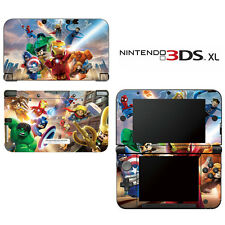 Vinyl Skin Decal Cover for Nintendo 3DS XL LL - Super Heroes