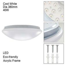 Round 40W LED Ceiling Light Fixture Lamp Bedroom Kitchen Lighting Cool White MT