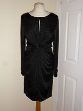 NEW LUXE Wedding Evening Party Cocktail Dress Size UK 14 EU 42 RRP £35 Polka Dot