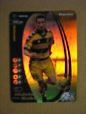 FOOTBALL CHAMPIONS 2001-2002 CARDS WIZARD PROMO FOIL - HIDETOSHI NAKATA - PARMA