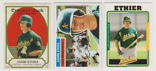 Andre Ethier Rookie Card Lot - 2005 Topps #313/Heritage #16/Cracker Jack #210