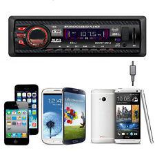 Autoradio Stereo In Dash FM Con Lettore MP3 USB SD Entrata AUX Ricevitore 1238