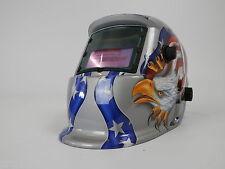 NUOVO Auto oscuramento casco di saldatura molatura funzione Saldatori Maschera energia solare