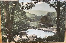 Irish Postcard At DERRYCUNNIHY Lakes of Killarney Ireland From Haverhill MA 1908