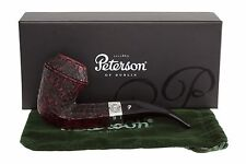 Peterson Sherlock Holmes Hansom Rustic Tobacco Pipe Fishtail