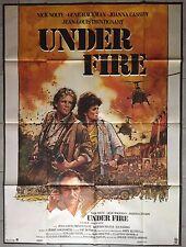 Affiche UNDER FIRE Ed Harris NICK NOLTE Gene Hackman 120x160cm *