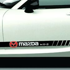 Fits MAZDA MX5 Miata Rocker Panel Stripe 2008 to 2017 Older or Newer Versions