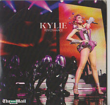 KYLIE MINOGUE PROMO CD ALBUM PERFORMANCE THE MAIL ON SUNDAY NEWSPAPER