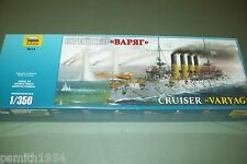ZVESDA   RUSSIAN CRUISER VARYAG 1904   1/350 scale kit