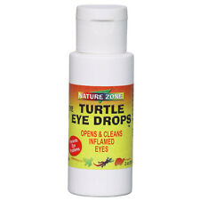 NATURE ZONE TURTLE EYE DROPS 1.7 OZ OPHTHALMIC RINSE WASH FREE SHIP IN THE USA