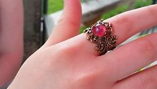 Dragon's Breath Ring Golden Setting Sale Vacation idea Low Shipping