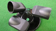 Wunderschöne 3-Kanal LICHTORGEL mikrofongesteuert 3x60W Deckenmontage regelbar