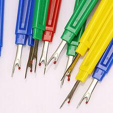 3pcs Plastic Seam Ripper Stitch Picker Unpick Thread Cutter Sewing Tool&Cap New