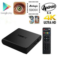 4K Amlogic S905X 2G 8G T95X Android6.0 Wifi Smart TV Box Quad Core Fully Loaded