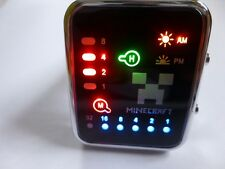 Minecraft Digital LED Watch Black 1st CLASS DELIVERY OR FASTER OPTION