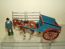 VINTAGE BRITAINS MODEL No.4F  TUMBREL CART & FARMER