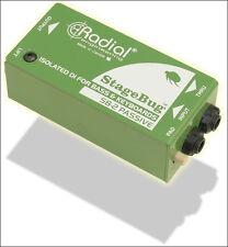 Radial Engineering StageBug ™ SB-2 Passive Direct Box NEW! Stage Bug SB 2