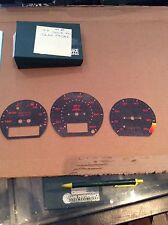 Vw corrado g60 92 rapid performance gauge face covers nos rare nla