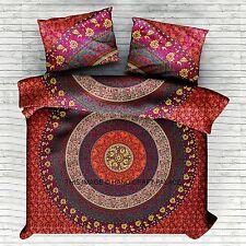 Indian Handmade Mandala Boho Hippie Comforter Blanket Doona Duvet Quilt Cover