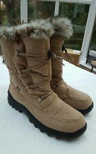 Ladies Women's Romika snow boots brown size 8