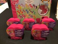 (5x)My Little Pony Squishy Pops SERIES 2 Heart Blinds- with NEW CRYSTAL DESIGNS
