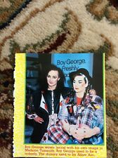 R1 Ephemera 1985 Picture Boy George Madame Tussauds