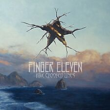 Finger Eleven - Five Crooked Lines (Audio CD - Jul 31, 2015) [Explicit Lyrics]
