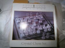 Fifth Avenue Crystal Chess Set