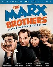 The Marx Brothers Silver Screen Collection (Blu-ray Disc, 2016, 3-Disc Set)